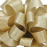 Luxe Gold Dust Satin Glitter Ribbon