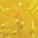 Yellow Pirouette Sheer / Satin Ribbon