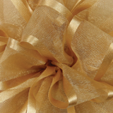 Golden Ale Pirouette Sheer / Satin Ribbon