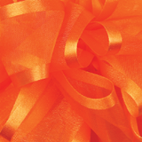 Torrid Orange Pirouette Sheer / Satin Ribbon
