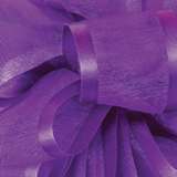 Purple Pirouette Sheer / Satin Ribbon