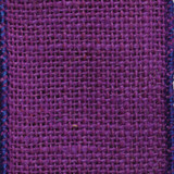 Purple Burlap Ribbon