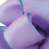 Wisteria Wired Woven Ribbon