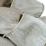 Anisha - Silver Wired Edge Ribbon