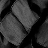 Anisha - Black Wired Edge Ribbon