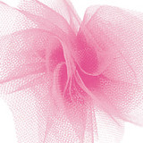 Solid Tulle Fabric - New Pink