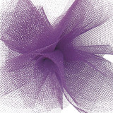 Solid Tulle Fabric - Purple