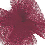 Solid Tulle Fabric - Burgundy