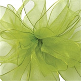 Encore Lime Sheer Wired Edge