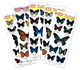 Assorted Butterfly pop-up stickers