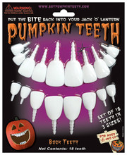 Pumpkin Teeth - Buck Teeth
