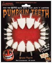 Pumpkin Teeth - Shark Teeth