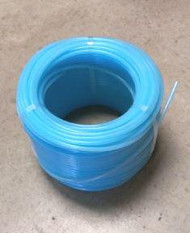 "Leader * 3/16"" * light blue RIGID tubing, 400 foot roll"