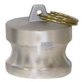 """1"""" M Camlock Dust Plug, Aluminum"""