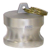 """2"""" M Camlock Dust Plug, Aluminum"""