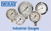 "Wika 30""-0-30# Liquid Filled Gauge, 233.53"