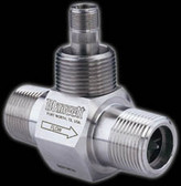 "Blancett 1100 Series Turbine Flow Meter, 1"" Bore, 1"" MNPT Connections, 170-1700 BPD Range, 5000 PSI Max"