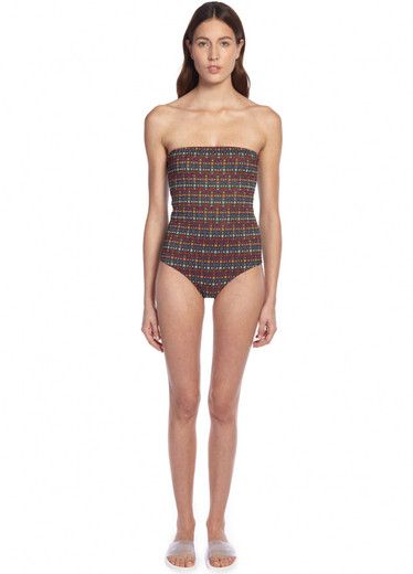 ANDROMEDA BANDEAU ONE PIECE - FRONT