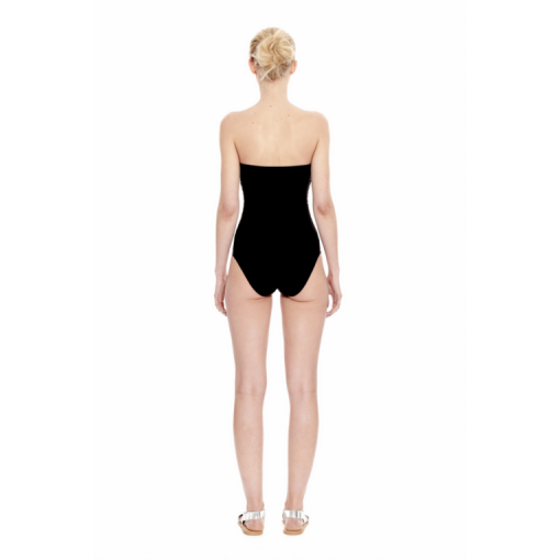 NARCISSUS BANDEAU ONE PIECE - BACK