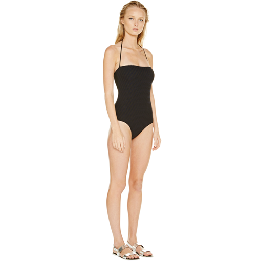 ADRIATIC BANDEAU ONE PIECE - SIDE