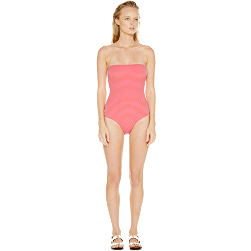 HYDRA BANDEAU ONE PIECE - FRONT