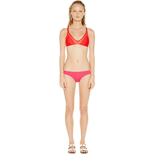 ROUGE TWIST BACK TOP WITH FRAMBOISE CLASSIC PANT - FRONT