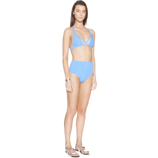 CERULEEN TWIST BACK BIKINI - SIDE
