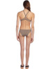 Taupe Twist Back Bikini from Ephemera Swimwear