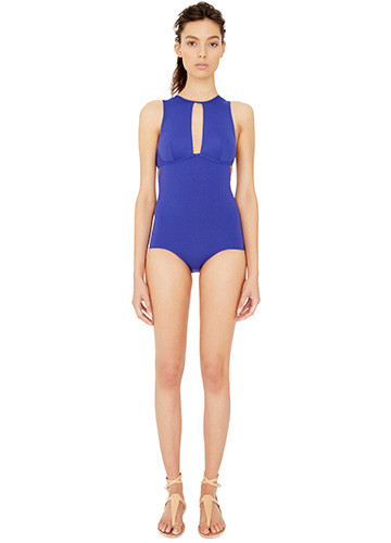 ATLANTIQUE SLASHED ONE PIECE FRONT