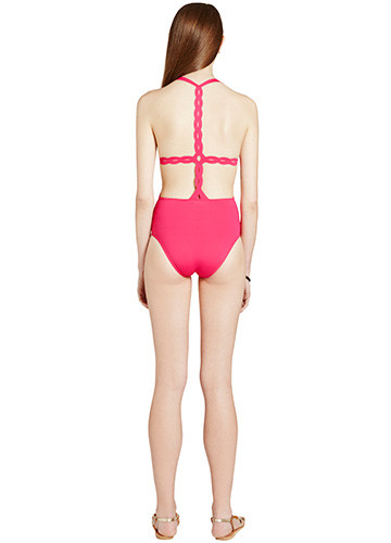 FRAMBOISE SWERVE ONE PIECE BACK