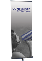 Contender Standard - Retractable Banner Stand