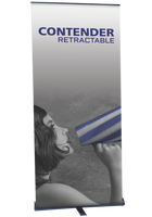 Contender Mega - Retractable Banner Stand