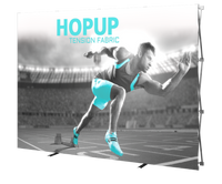 HopUp - 10' Backwall Display w/ Full Fitted Graphic