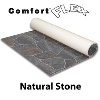 Comfort Flex - 10' x 10' Vinyl Flooring - Natural Stone Collection