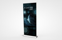 Axis 1000 Retractable Banner Stand