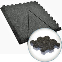 Plush Comfort Carpet - 10' x 20' Interlocking Carpet Tiles
