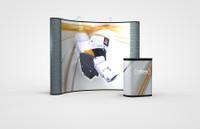 10 Foot Economy Plus Curve Graphic/Fabric Kit