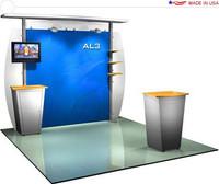 Alumalite Classic - AL3 Deluxe - 10' Trade Show Booth