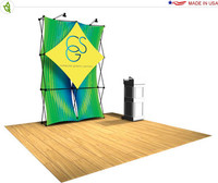 Xpressions Snap! - Tension Fabric Pop Up Display - Select Kit 2x3 A