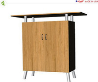 Eco-Systems - Double Bamboo Cabinet / Podium