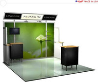 Alumalite Lineare - AL7 Deluxe - 10' Trade Show Booth