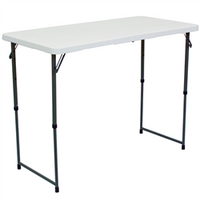 Showgoer 4' Portable Folding Demo Table