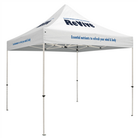 Standard - 10' Square Outdoor Event Tent /w 4 Imprints