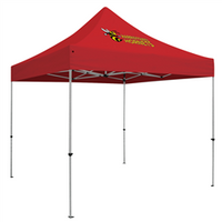 Deluxe ShowStopper - 10' Square Outdoor Event Tent /w 1 Imprint