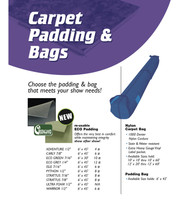 Carpet Padding Bag 6' X 45'