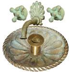 cast bronze sink & faucet