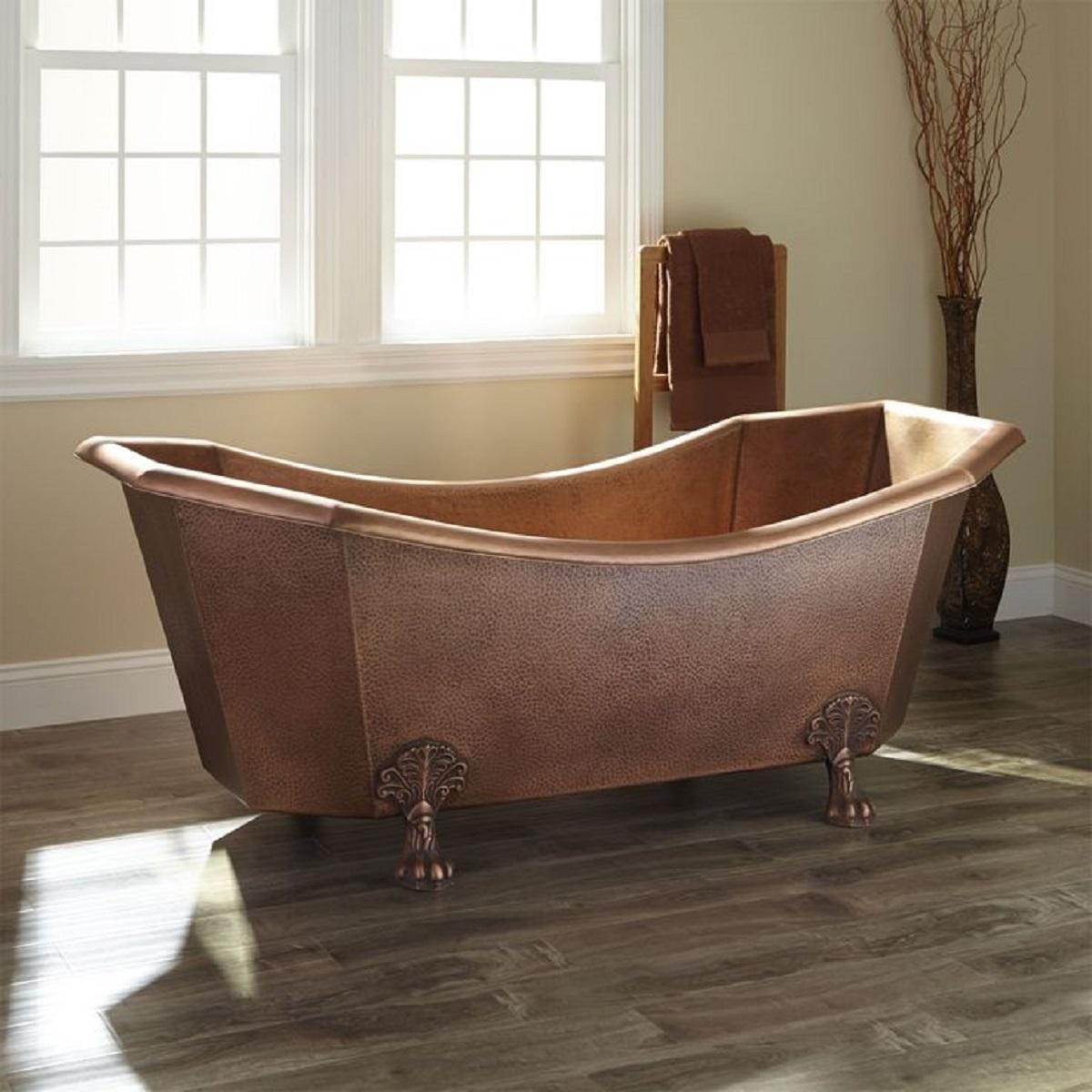 copper clawfood bathtub