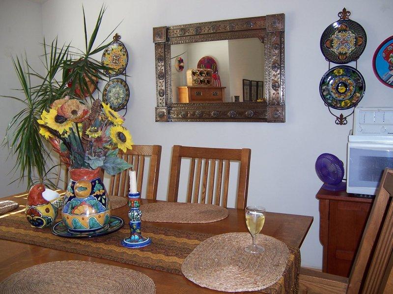 mexican tin mirror
