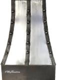wrought iron range hood