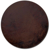 """copper table top 40"""" on sale"""